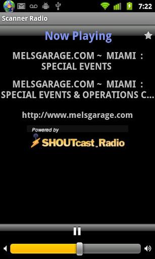 Scanner Radio - screenshot