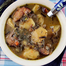 Wild Rice, Potato & Sausage Soup