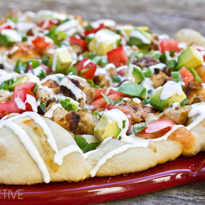 Grilled Chicken Tex Mex Pizza