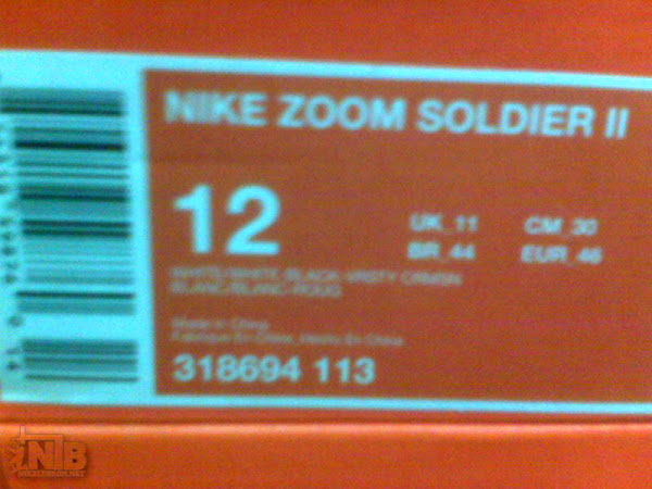 Quickstrike Release of the Remix Nike Zoom Soldier II
