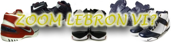 LeBron James8217 Zoom LeBron VI Will Be Released in 2008
