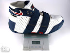 lebrons 20 5 5 white navy gram Weightionary