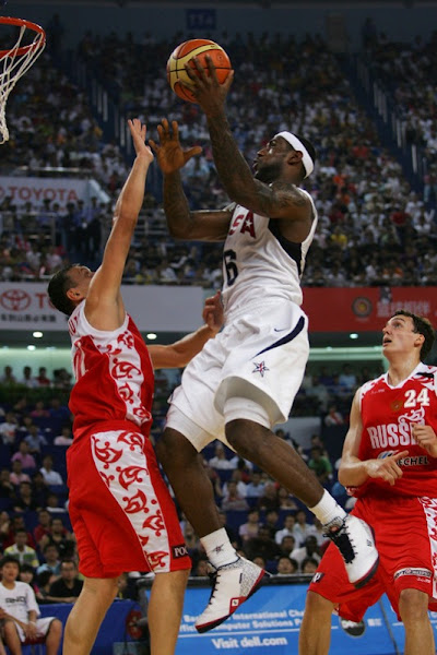 LeBron James and US Team Stays Perfect in Tuneups Beats Russia