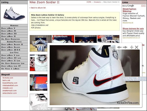 Upgrading NikeLeBronnet8230 new Sneakers Dictionary Section