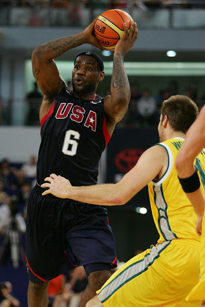USA Basketball Team Lacks Energy Against Australia