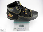 lebrons soldier 1 black gram Weightionary