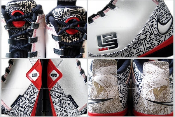 LeBron8217s USA Lionlasered Soldier II coming to House of Hoops
