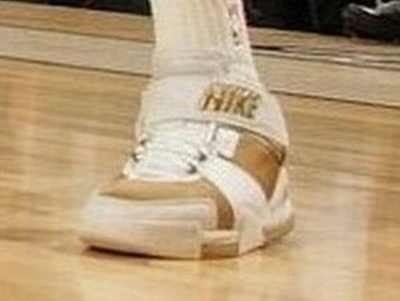 Lebron II White and Gold Player Exclusive