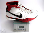 nike kobe 1 gram Weightionary