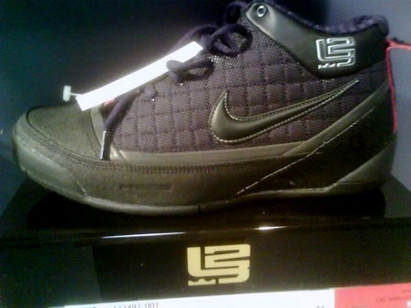 Actual Pic of the All Black Nike Zoom LBJ Ambassador