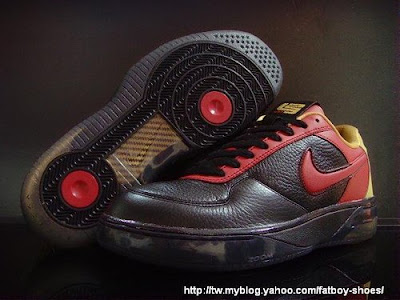 af25 black red yellow1 1 Upcoming Nike Air Force 25 Low LeBron James Edition