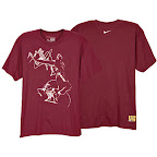 news eastbay 86082677 z laser dunk tee LeBron James Nike Zoom LeBron VI Apparel 2008 09