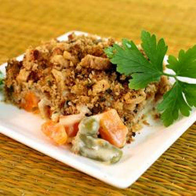 Vegetable Stuffing Casserole