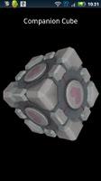 Screenshot of Portal Companion Cube Donate