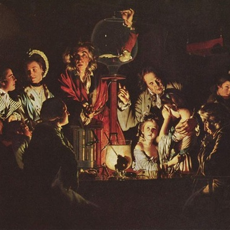 The paintings of Joseph Wright