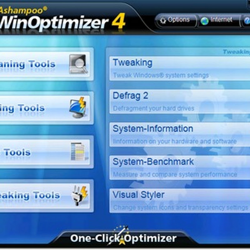 Full version of WinOptimizer 4 worth $40