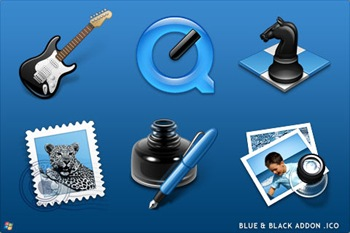 Black_And_Blue_Icons_Addon_ICO_by_ipholio