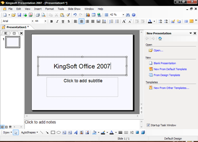 kingsoft-presentation