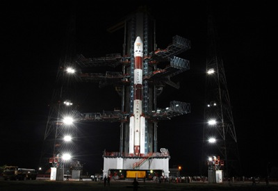 PSLVc11-on-launch-pad