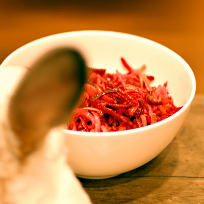 Jicama, Beet and Carrot Salad