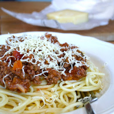 Spaghetti Bolognese Two Ways