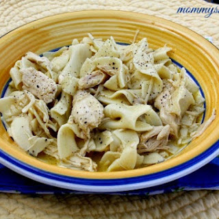 Easy Chicken & Noodles