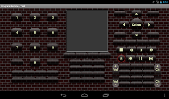 Screenshot of mbhRemote Demo 2