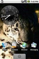 Screenshot of Hero Night Clock Widget 2x2