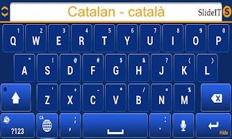 Screenshot of SlideIT Catalan Valencian Pack