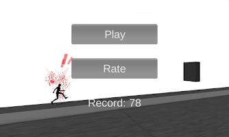 Screenshot of Stickman: Bloody Line Run