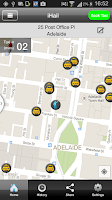 Screenshot of Adelaide Independent Taxis