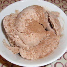 Chocolate Almond Frozen Yogurt