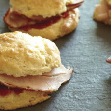 Ham Biscuit Sliders With Hot Pepper Jam