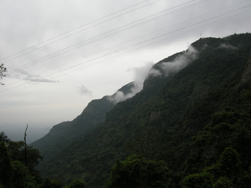 Nilgiri Mountains Blue mountains view