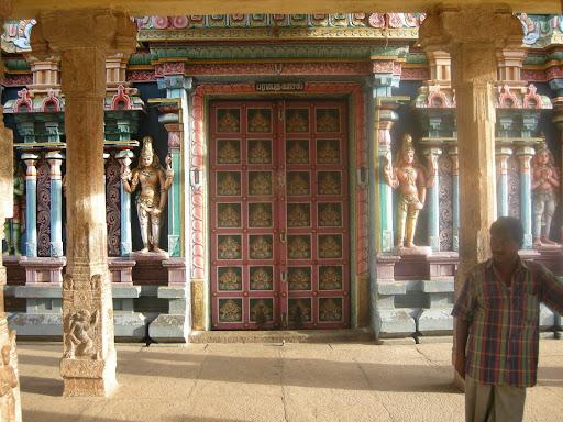 Paradise gate, Sri Ranganathaswamy temple, Trichy