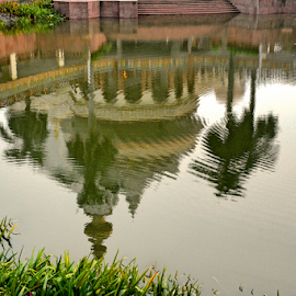 by Ravi Kashyap - Buildings & Architecture Other Exteriors ( water, temple, reflection )