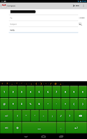 Screenshot of Green Keyboard