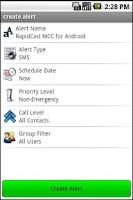 Screenshot of RapidCast