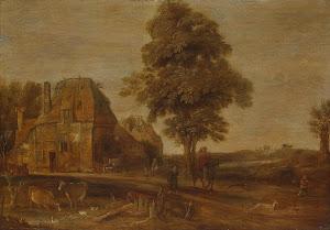 RIJKS: Aert van der Neer: painting 1639