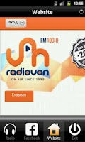 Screenshot of Radio VAN