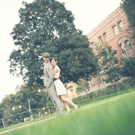Closer To Me by Yansen Setiawan - Wedding Other ( creative, vintage, art, losangeles, illusion, love, fineart, yansensetiawanphotography, prewedding, d800, wedding, lifestyle, la, photographer, yansensetiawan, nikon, yansen, engagement )