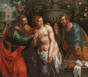 RIJKS: Hendrik de Clerck: painting 1629