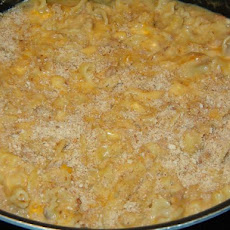 Pasta and Tuna Cheddar Bake