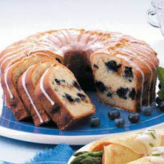 Blueberry Sour Cream Coffee Cake