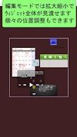 Screenshot of WidgetBoard