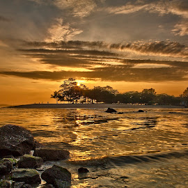 Changi Beach - Singapore by John Chung - Landscapes Beaches