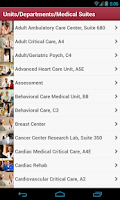 Screenshot of IU Health My Guide