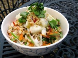 Vietnamese Crab Noodle Salad