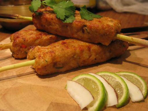 Malaysian Fish Kebabs