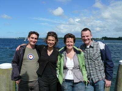 Antony, Renate, Corine & Hubert in Veere